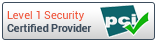 PCI Level 1 Security Certified Provider